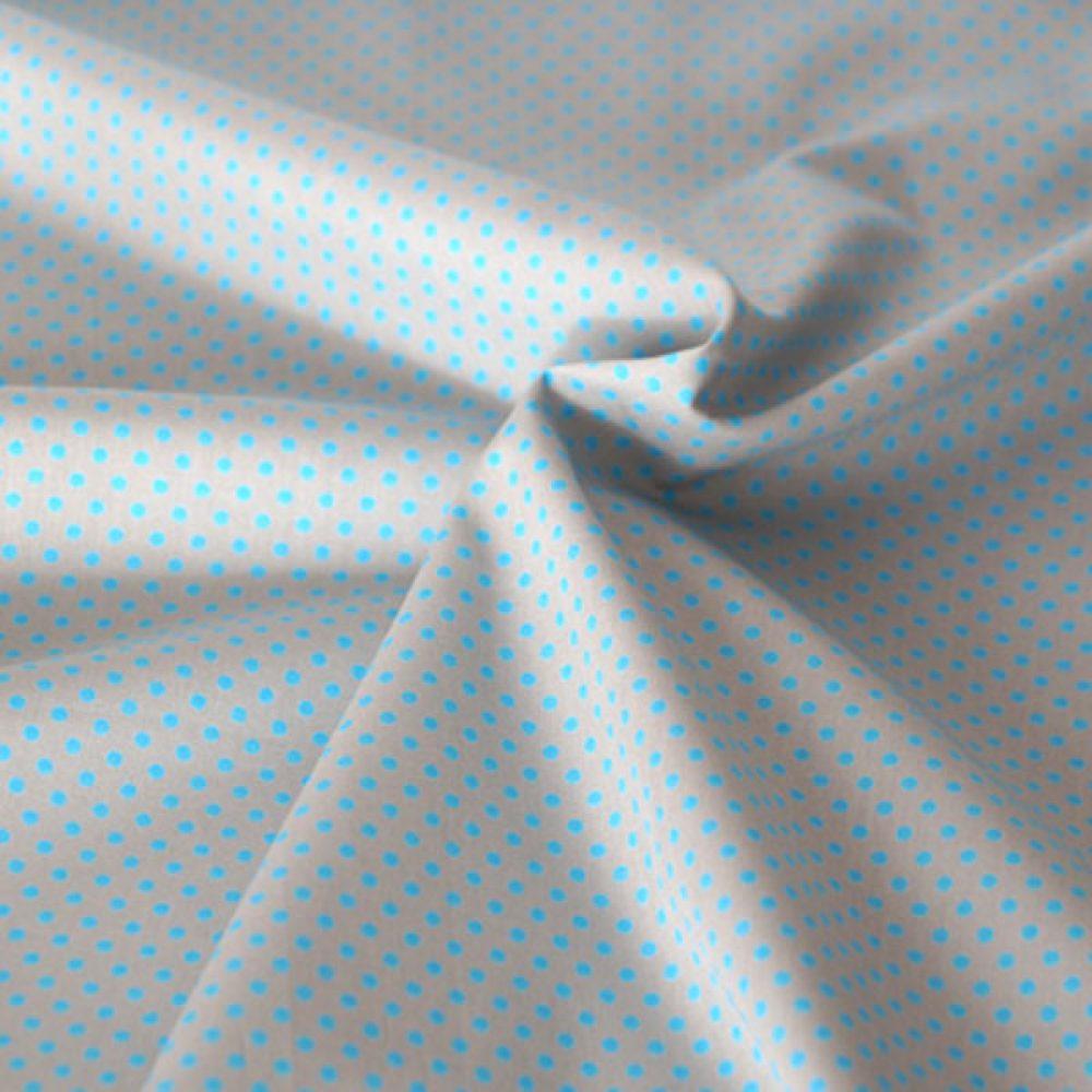 Dots Grau Blau