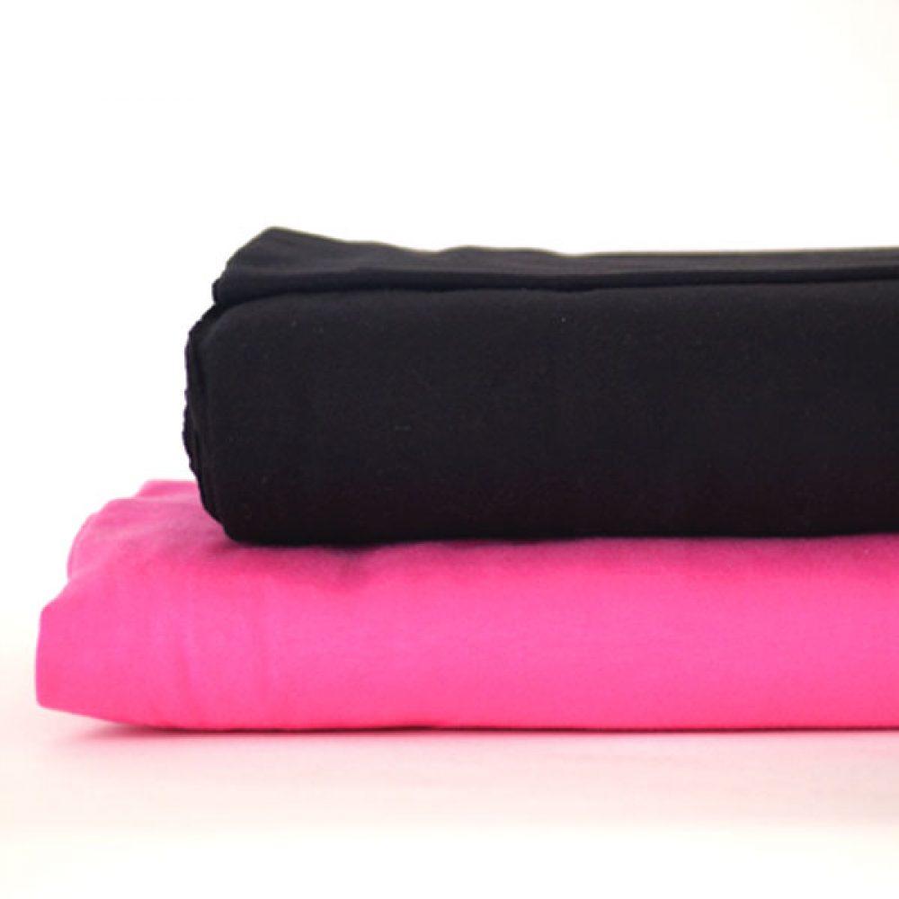 Hilco Jersey Schwarz Pink
