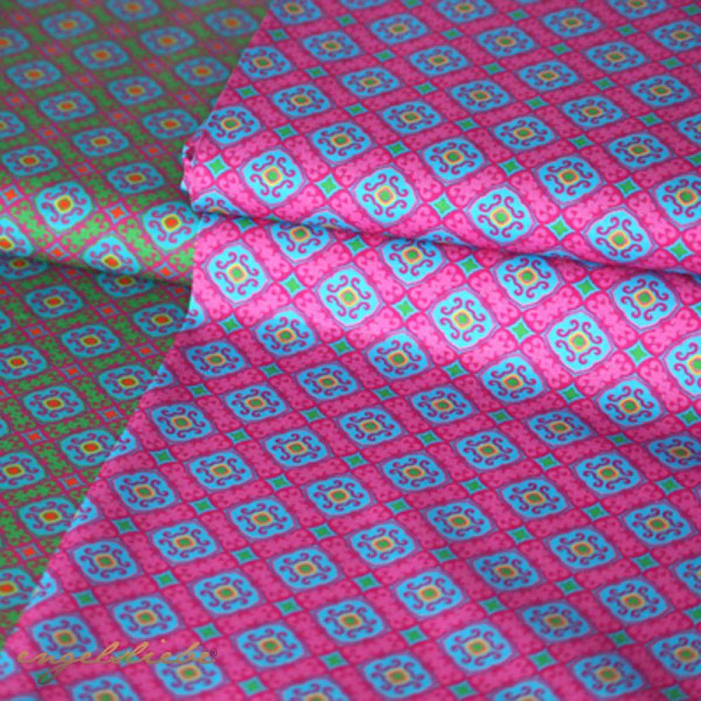 Hilco Ornamente Pink Blau