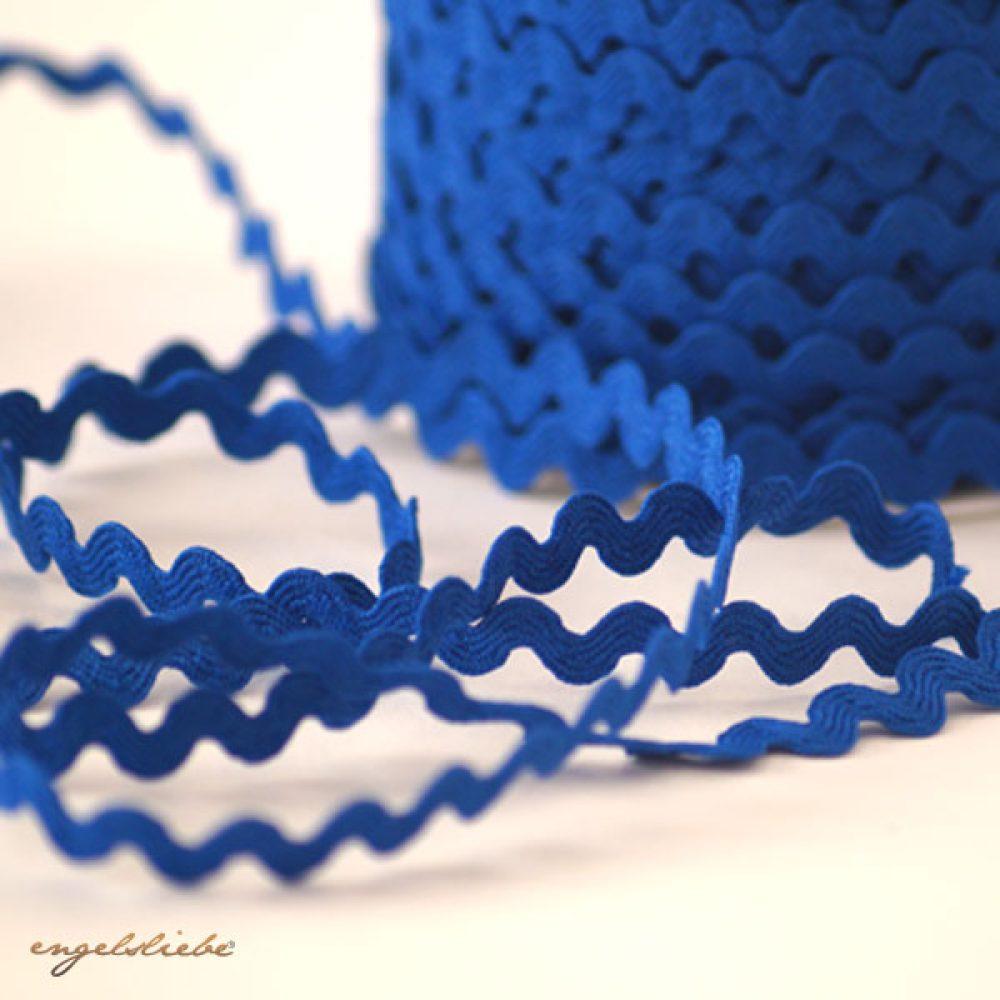 Zackenlitze Blau