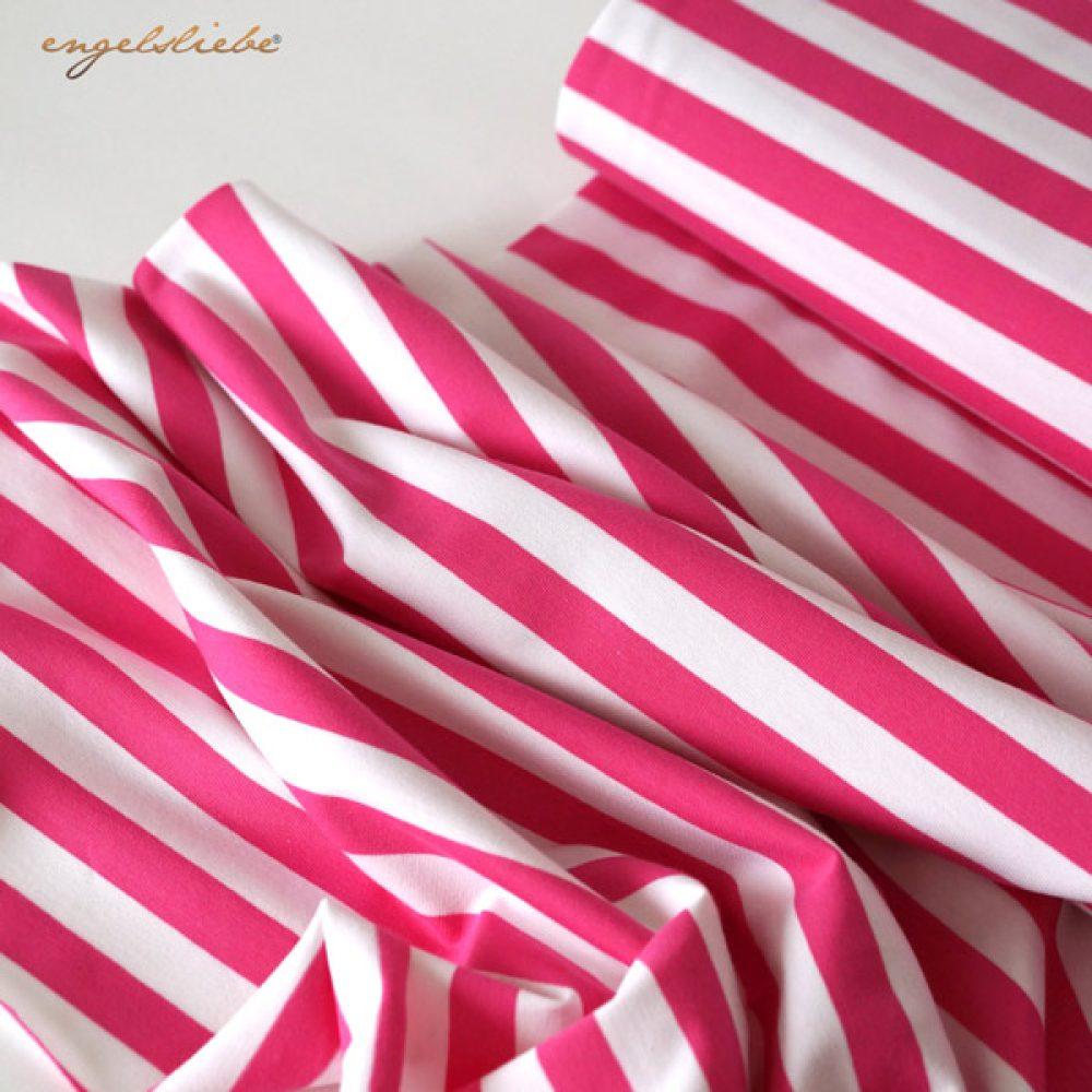 Albstoffe Jersey pink