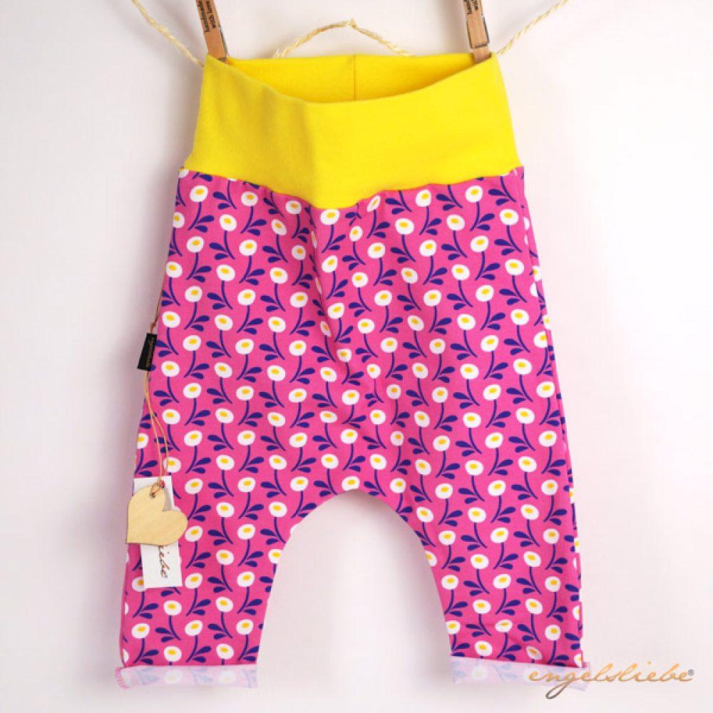 Baby Sommer Hose pink