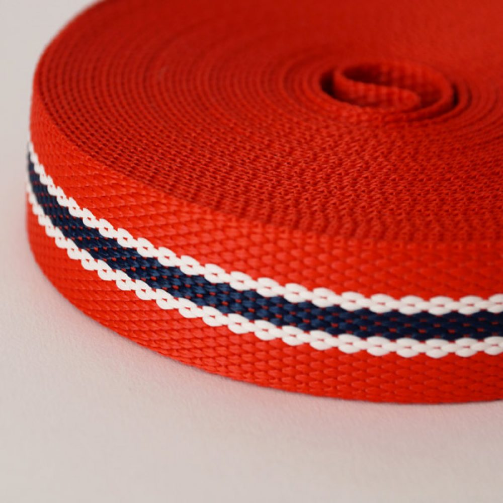 Gurtband rot-blau
