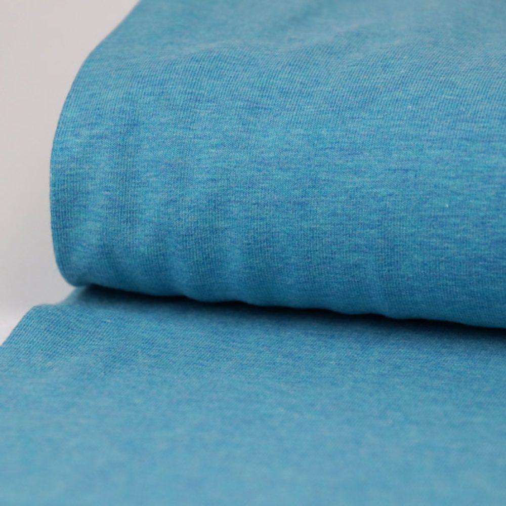 Jersey meliert türkisblau