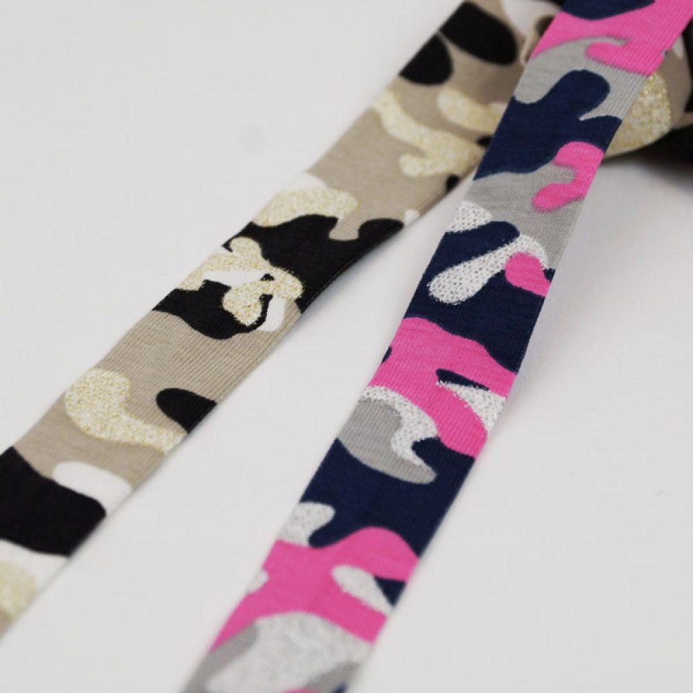 Camouflage Schrägband