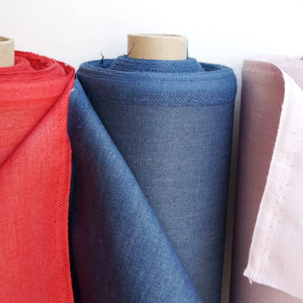 Dry Coated Linen