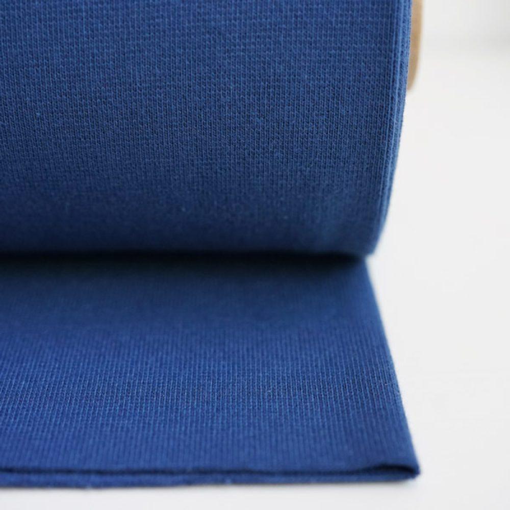 Uni Bündchen jeansblau