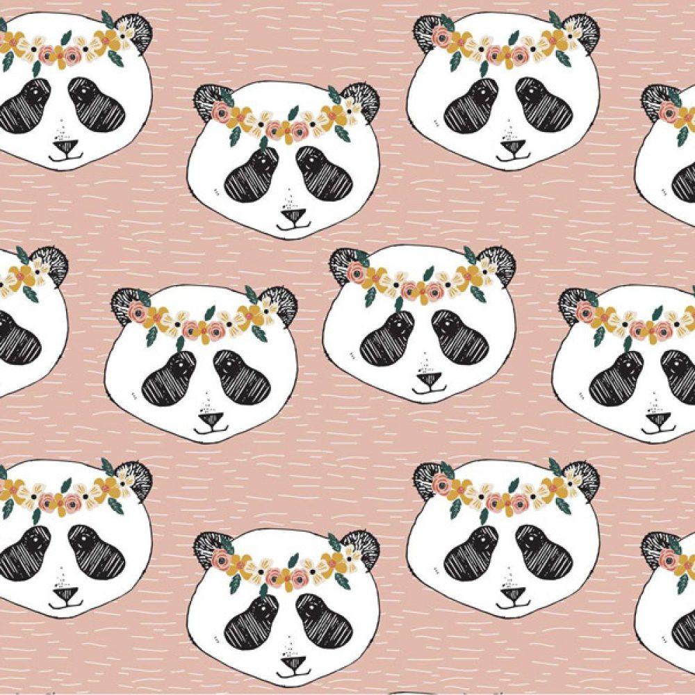Panda Floral Elvelyckan Desing