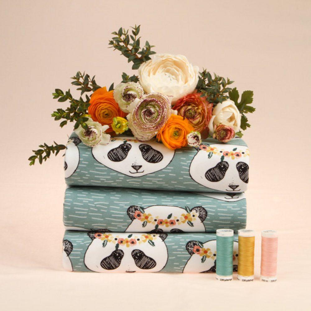 elvelyckan Design Panda Floral