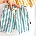 Lounge Pants Stripes aqua