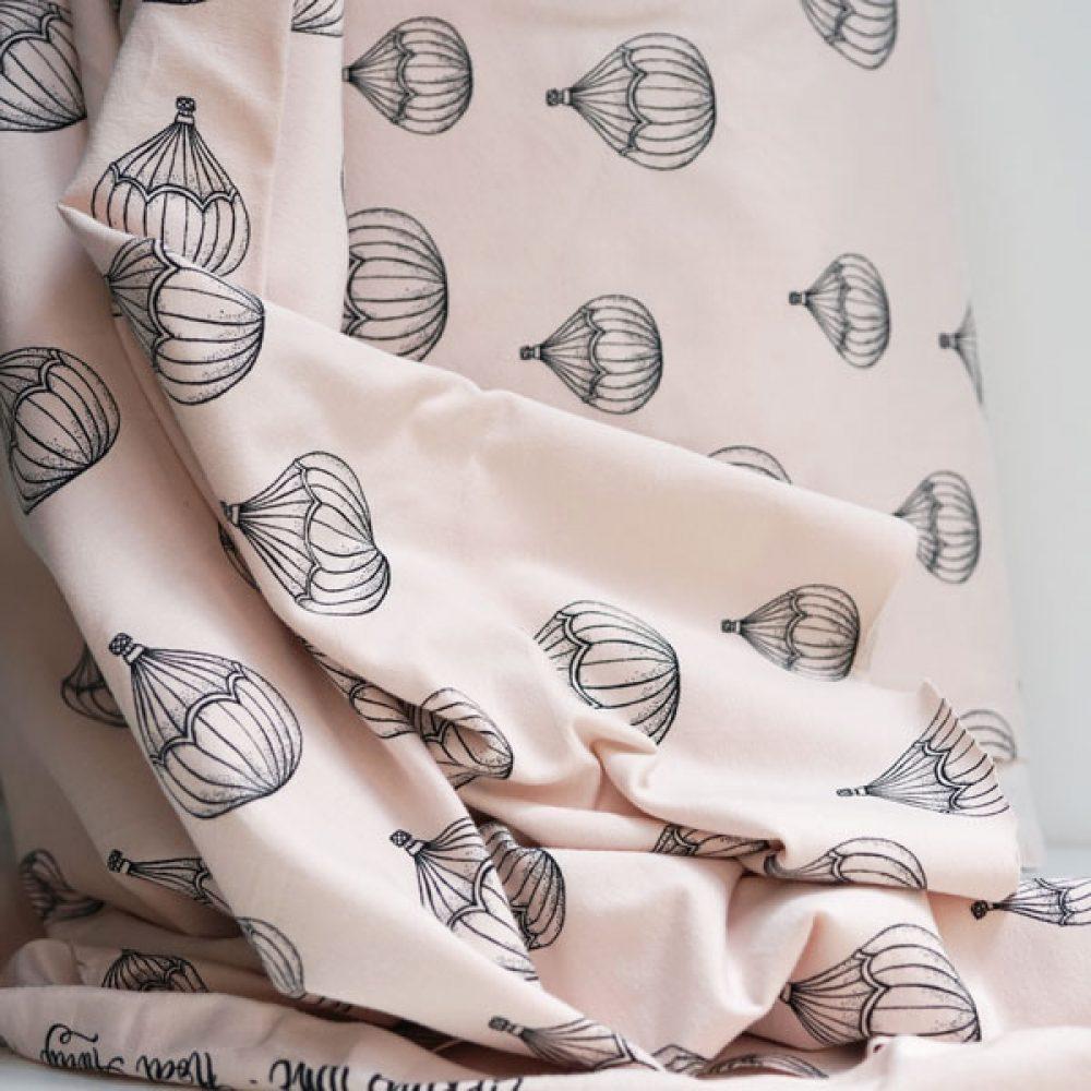 Airballon rose - Bio Jersey