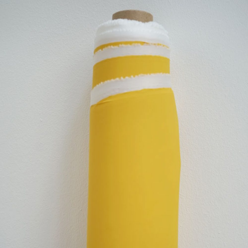 Regenjackenstoff Uni gelb