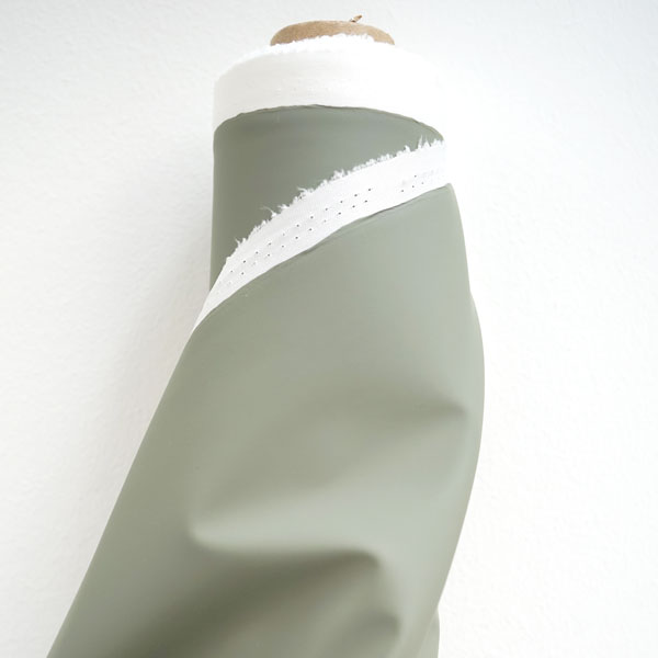 Regenjackenstoff Uni hellgrün