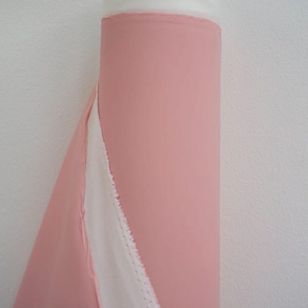Regenjackenstoff Uni rosa