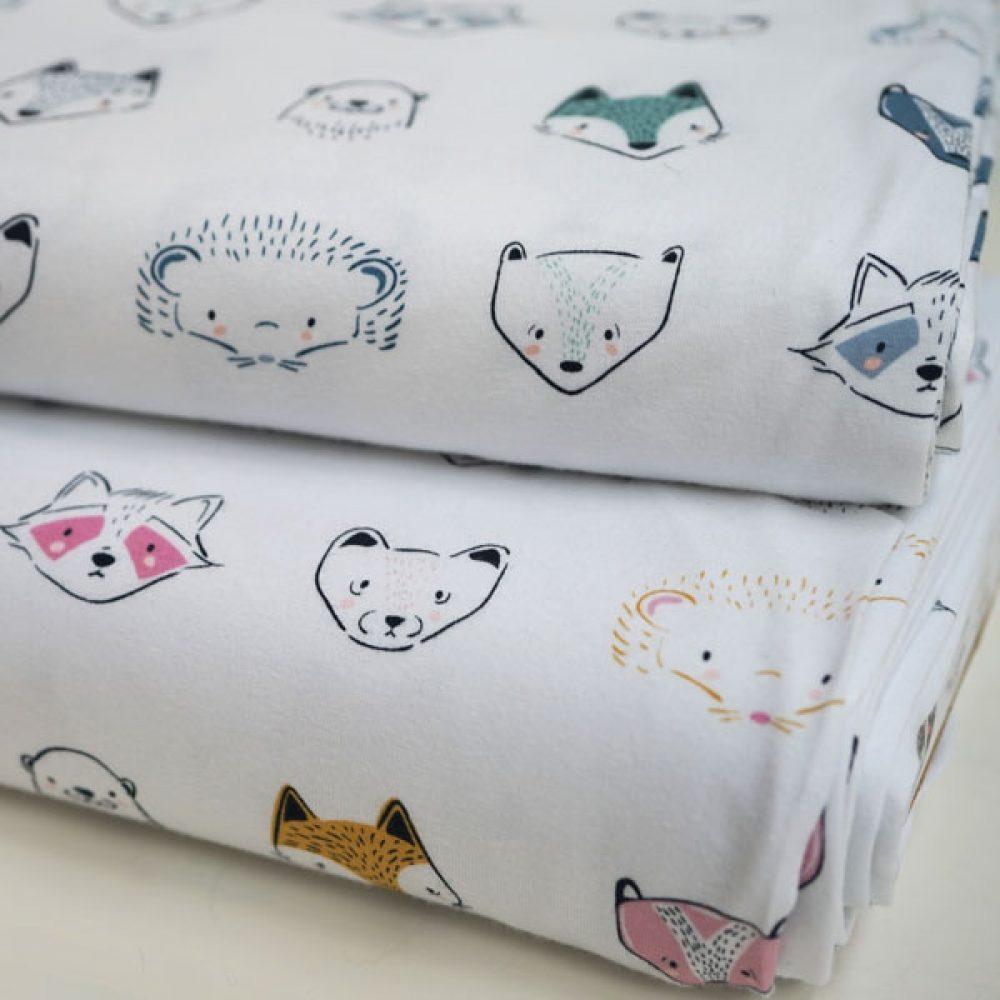 Pine Lullaby - Jersey Art Gallery Fabrics