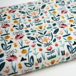 Floral Garden Cotton and Steel