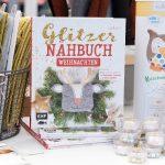 Glitzer Nähbuch Weihnachten