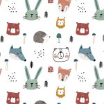 Forest Animals - Fabrics and Friends