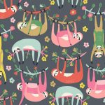 Hanging Around grey - Blend Fabrics