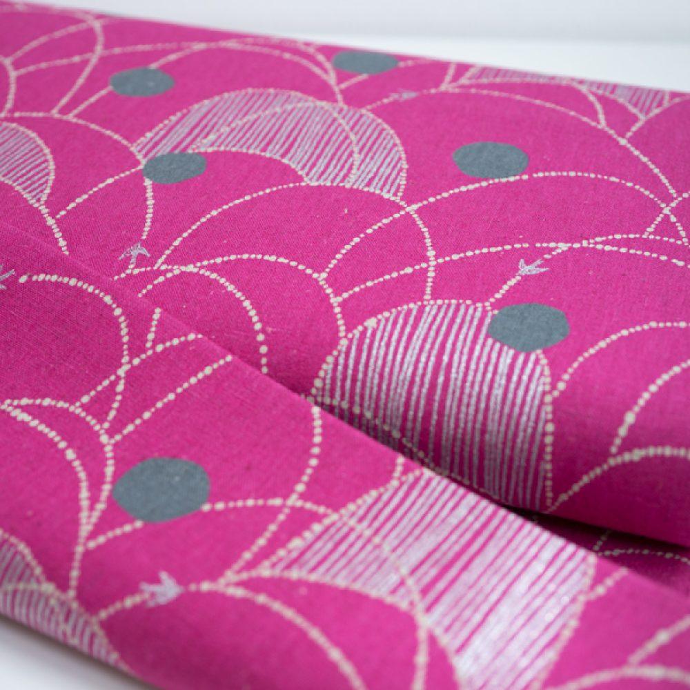 Kokka Echino Spring - Pink