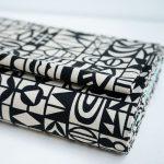 Kokka Ellen Baker Paper - Black