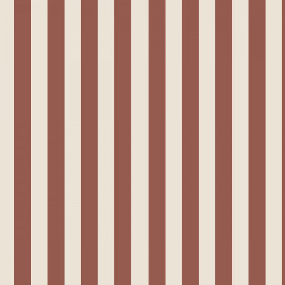 Vertical Stripes Rusty-creme