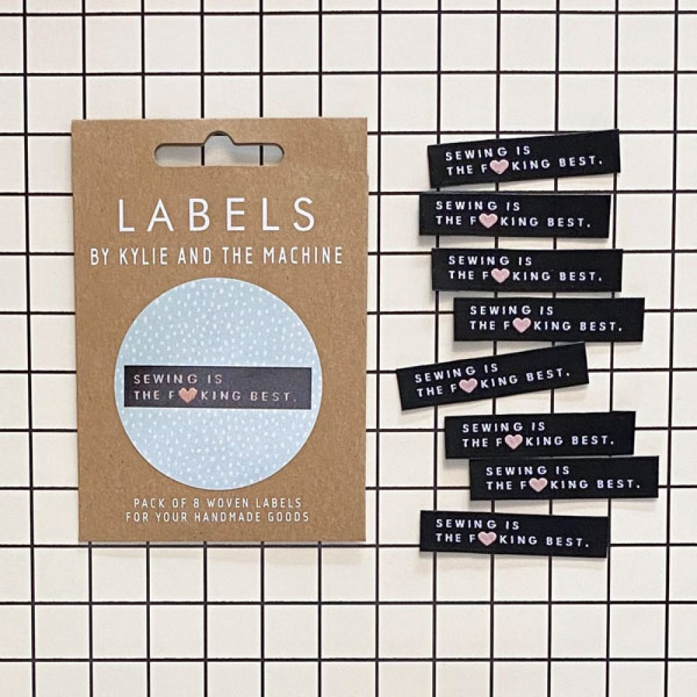 Woven Labels - Kylie and the Machine