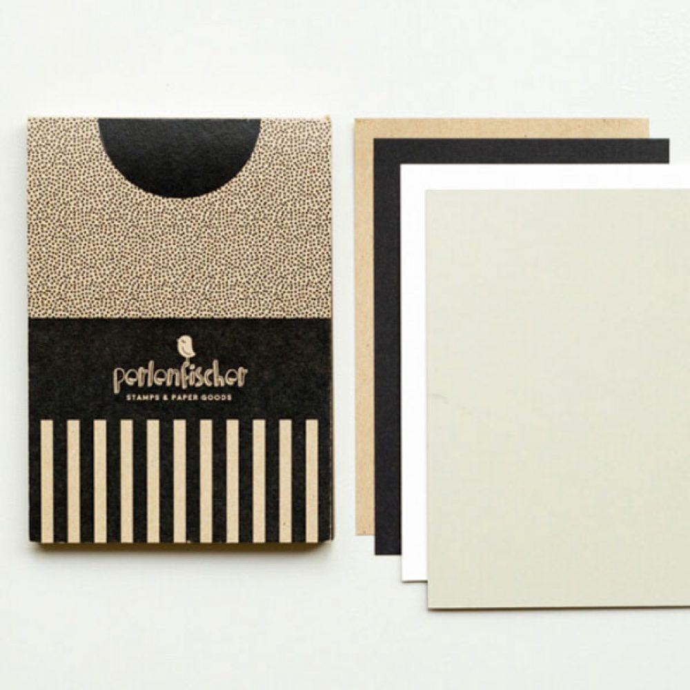 Kartenblock mit 60 Karten - Perlenfischer