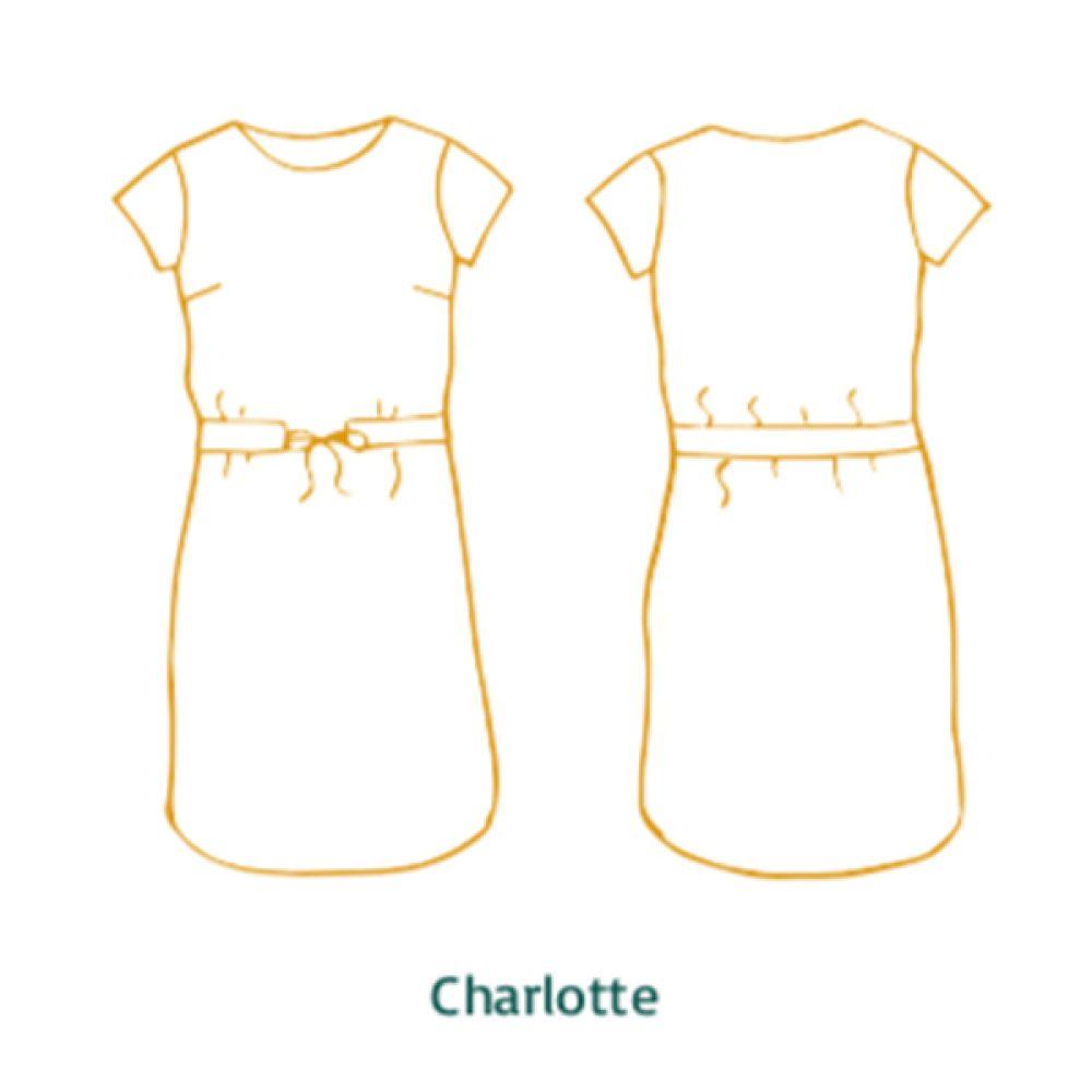 Charlotte & Lou Dress & Top - Atelier Jupe Patterns