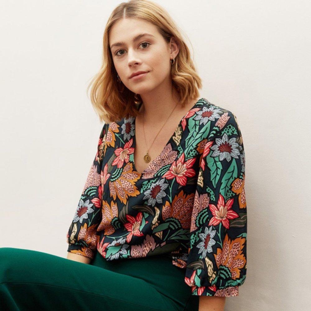 Zoey Blouse - Atelier Jupe Patterns