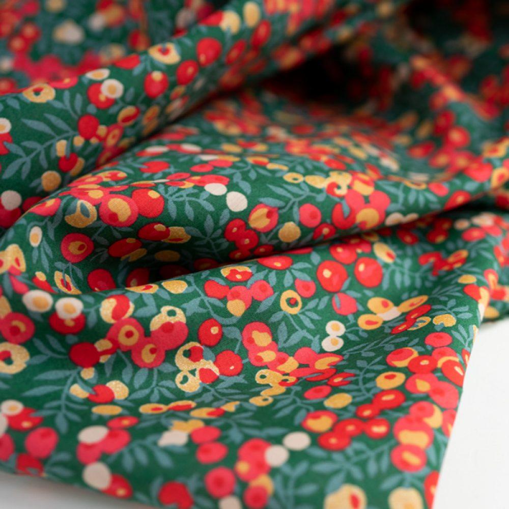 Wiltshire Metallic Tana Lawn™ Cotton - Liberty Fabrics